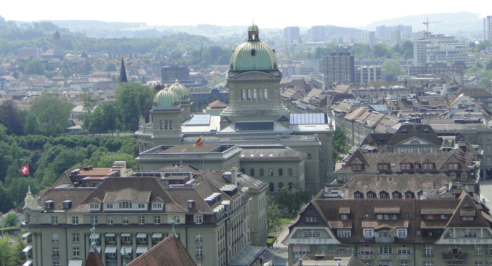Una veduta su Berna, Svizzera