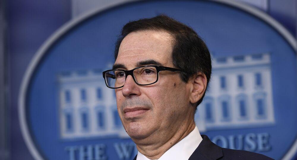 Il segretario al Tesoro Steven Mnuchin
