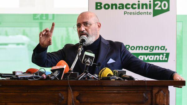 Stefano Bonaccini, presidente della Regione Emilia-Romagna - Sputnik Italia