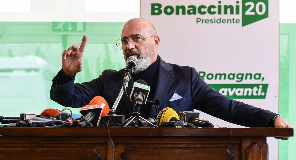 Stefano Bonaccini, presidente della Regione Emilia-Romagna