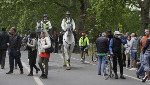 Proteste nel Hyde Park, Londra - Sputnik Italia