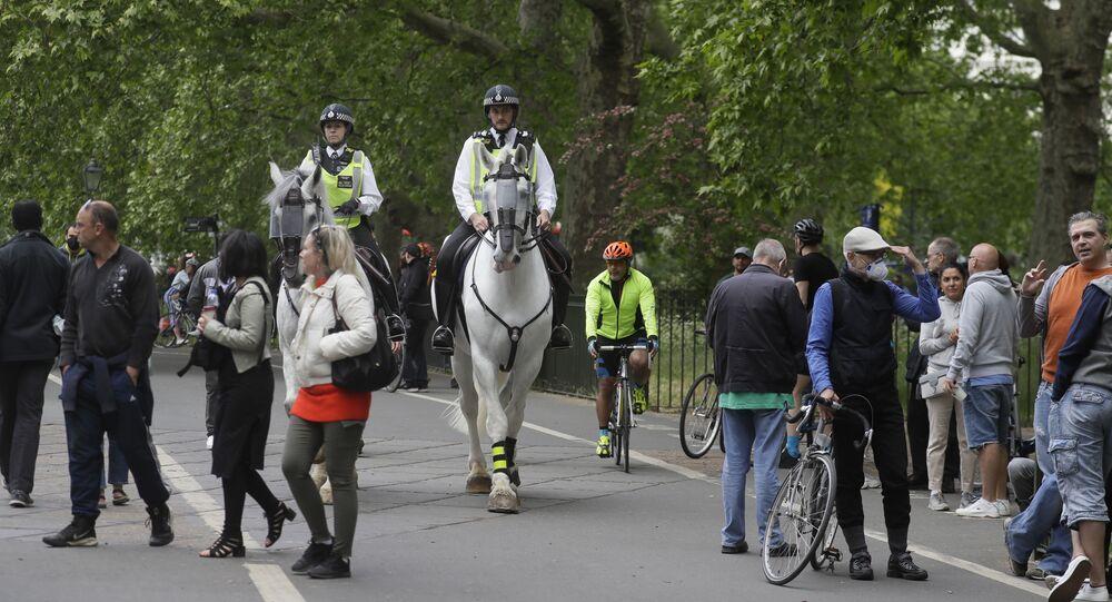 Proteste nel Hyde Park, Londra