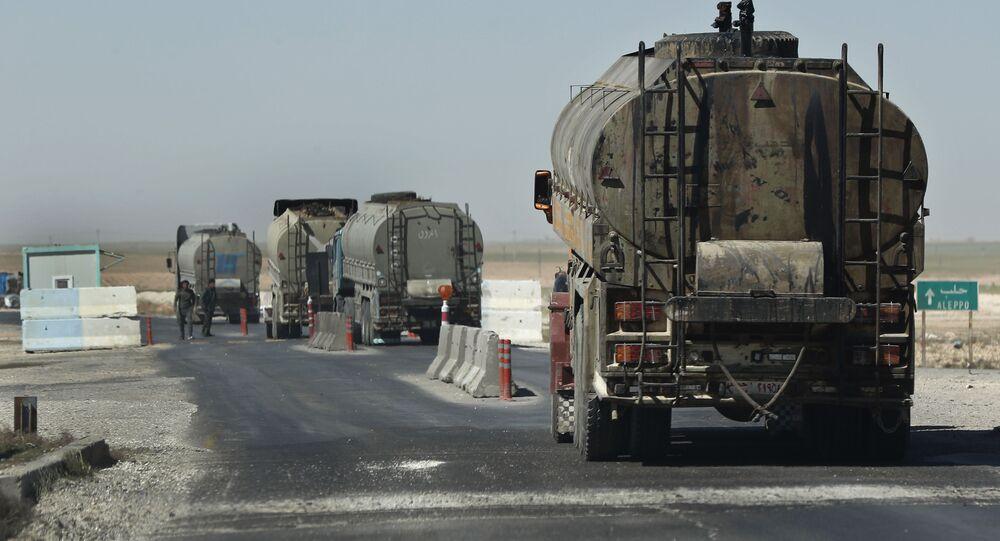 Petroliere in Siria