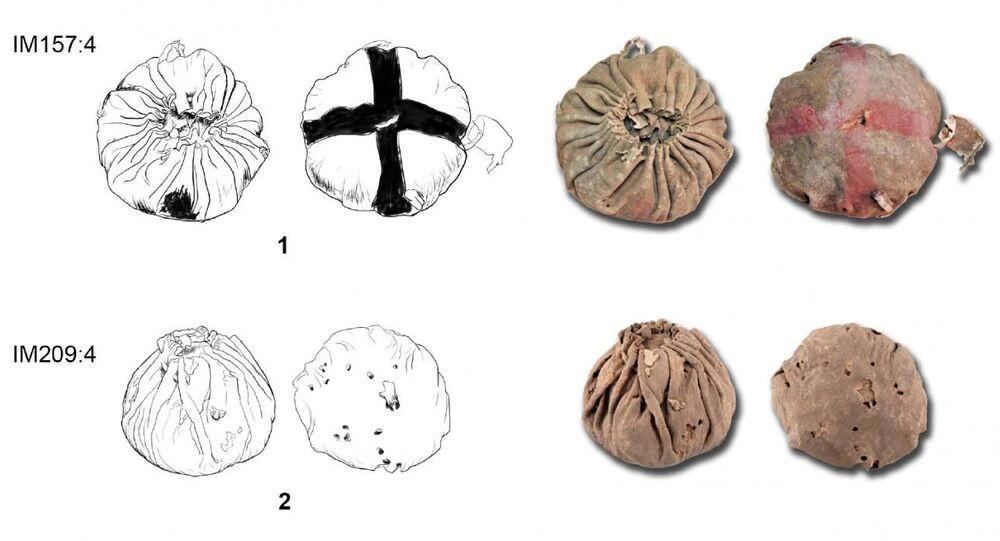 Scoperta cinese: 3 palle di cuoio che hanno quasi 3.000 anni