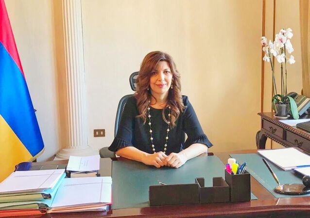 Tsovinar Hambardumyan - Ambasciatrice della Repubblica Armena in Italia