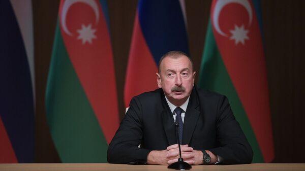 Il presidente azerbaigiano Ilham Aliyev - Sputnik Italia