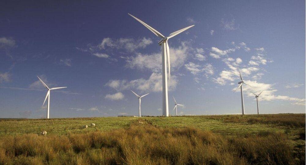 Wind farm, Dun Law, Scottish borders