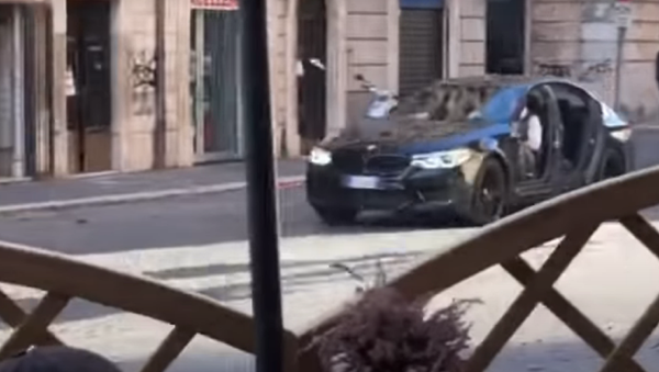 La BMW M5 di 'Mission: impossible 7' - Sputnik Italia