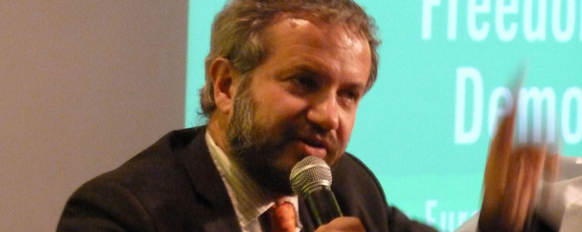 Claudio Borghi, noto anche come Claudio Borghi Aquilini, è un politico italiano, deputato per la Lega dal 2018 - Sputnik Italia, 1920, 25.07.2021