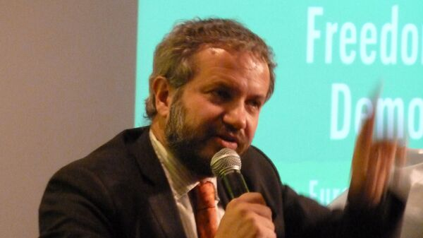 Claudio Borghi, noto anche come Claudio Borghi Aquilini, è un politico italiano, deputato per la Lega dal 2018 - Sputnik Italia