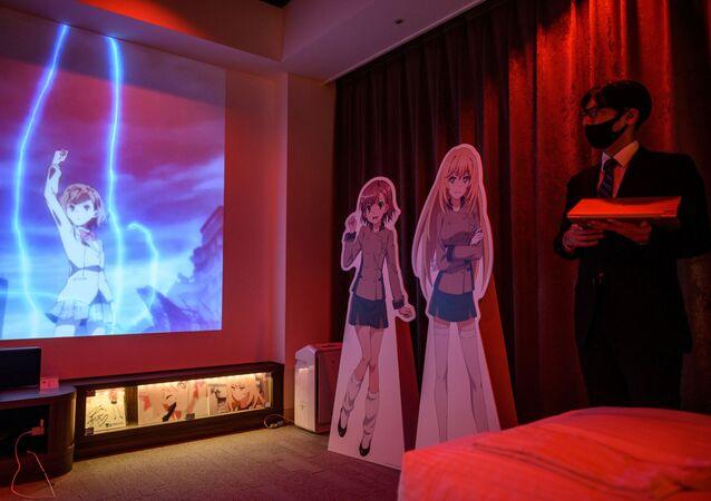 Un albergo nella città giapponese Tokorozawa le cui stanze sono state decorate con vari personaggi di anime.