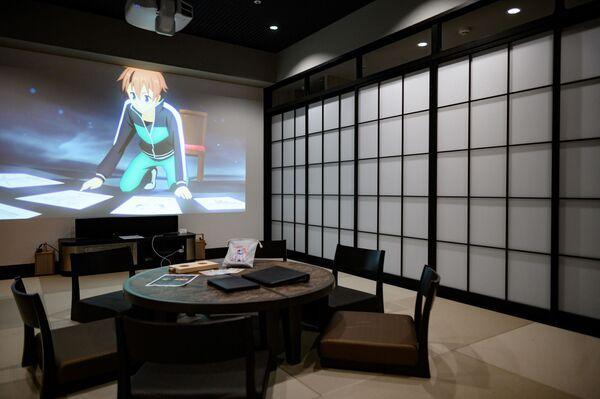 Un albergo nella città giapponese Tokorozawa le cui stanze sono state decorate con vari personaggi di anime - Sputnik Italia