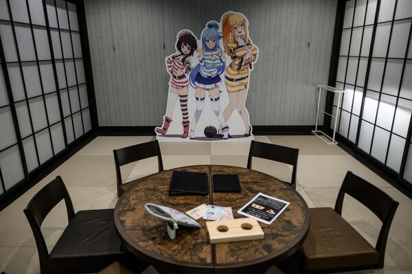 Un albergo nella città giapponese Tokorozawa le cui stanze sono state decorate con vari personaggi di anime. - Sputnik Italia