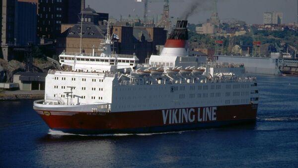 Il traghetto Estonia all'epoca quando si chiamava Viking Sally - Sputnik Italia