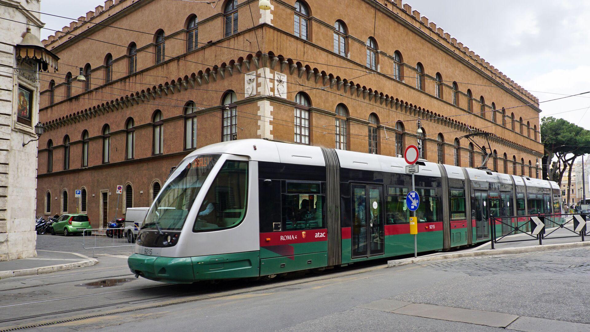 Tram a Roma - Sputnik Italia, 1920, 22.02.2021