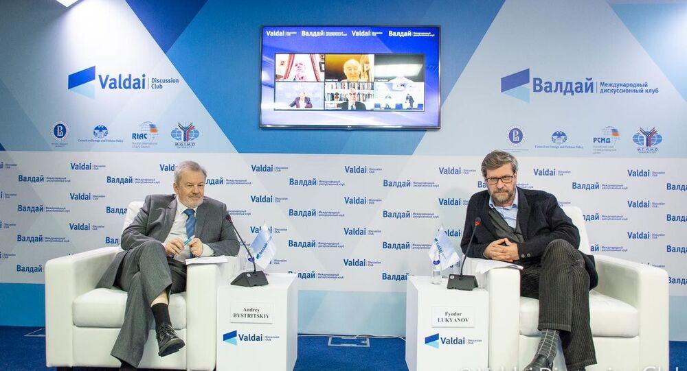 Presentazione del rapporto annuale del Valdai Discussion Club