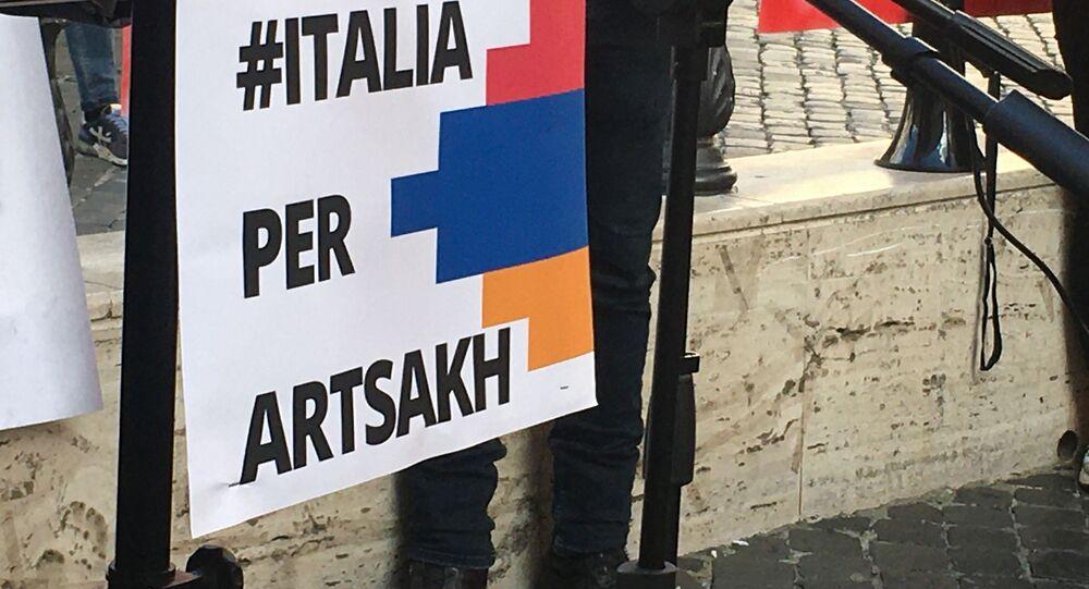 Italia per Artsakh, manifestazione a Roma
