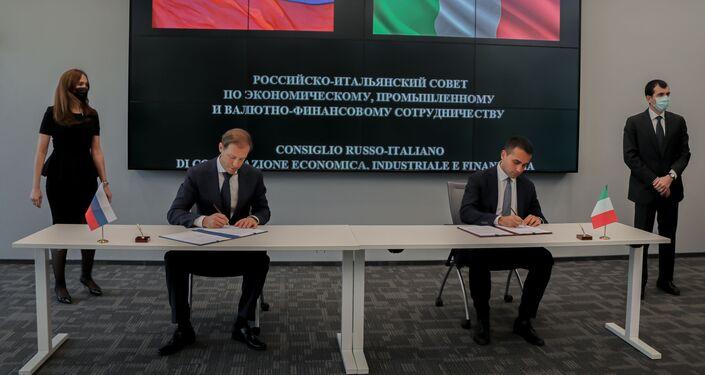 Dopo: i due ministri firmano i protocolli d'intesa