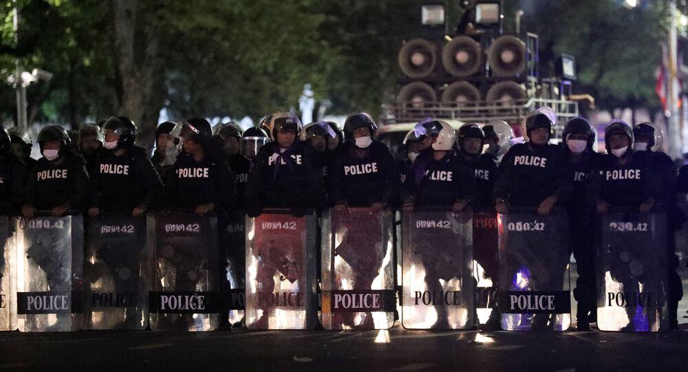 Proteste in Tailandia