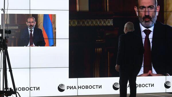 L'intervista al premier armeno Pashinyan - Sputnik Italia