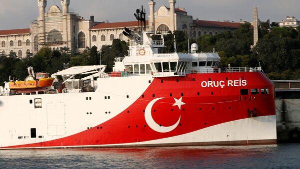La nave di ricerca turca Oruc Reis - Sputnik Italia