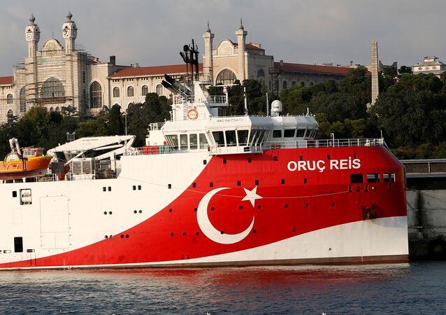 Nave turca di esplorazione