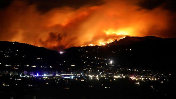 Incendio de Cameron Peak (estado de Colorado) - Sputnik Italia