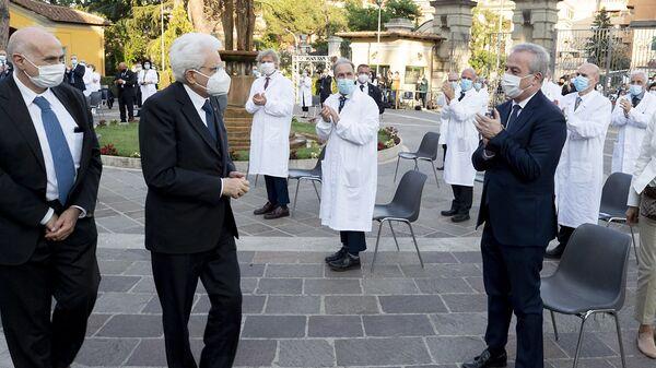 Il Presidente del Consiglio Superiore di Sanità Franco Locatelli - Sputnik Italia