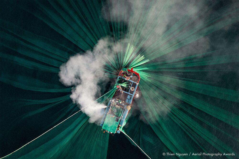 La foto del fotografo vietnamita Thien Nguyen, concorso fotografico Aerial Photography Awards 2020