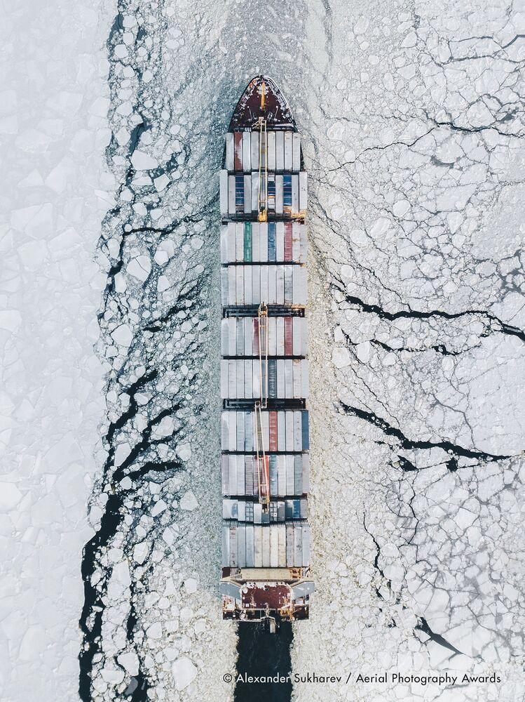 La foto del fotografo russo Alexander Sukharev, concorso fotografico Aerial Photography Awards 2020