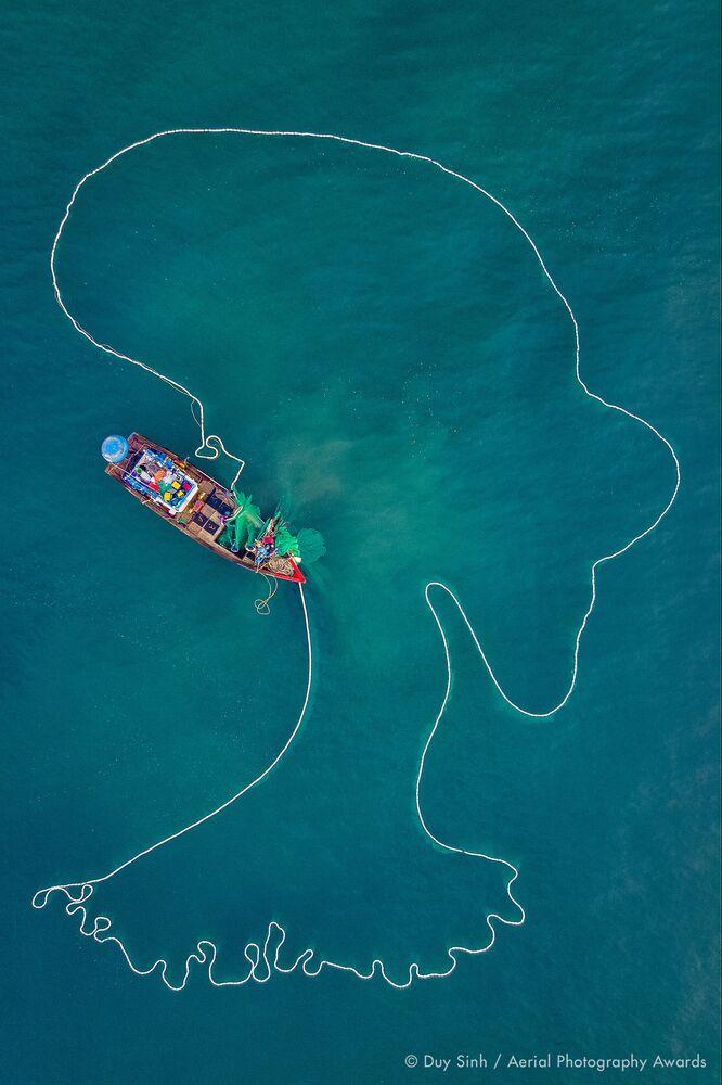 La foto del fotografo vietnamita Duy Sinh, concorso fotografico Aerial Photography Awards 2020