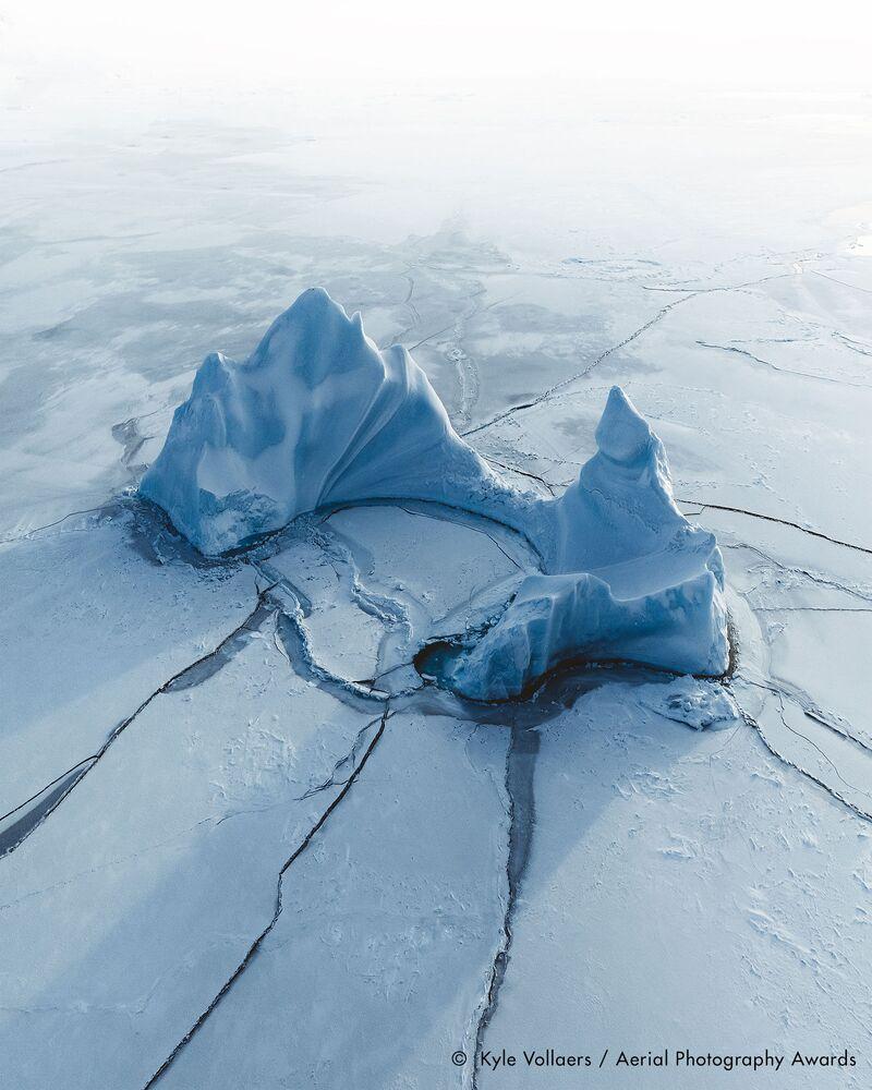 La foto del fotografo britannico Kyle Vollaers, concorso fotografico Aerial Photography Awards 2020