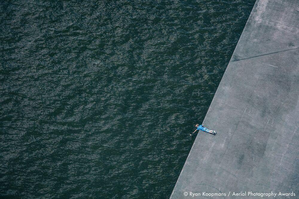 La foto del fotografo canadese Ryan Koopmans, concorso fotografico Aerial Photography Awards 2020
