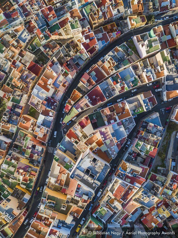 La foto del fotografo belga Sebastien Nagy, concorso fotografico Aerial Photography Awards 2020