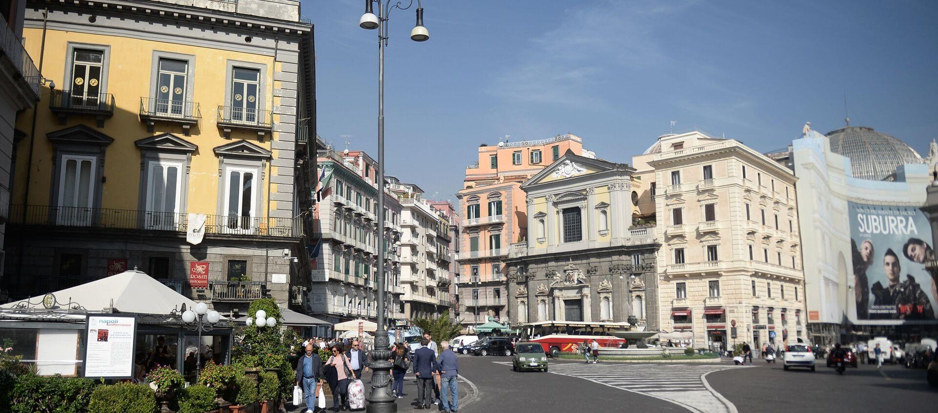 Napoli, la Piazza Trieste e Trento - Sputnik Italia, 1920, 31.01.2021