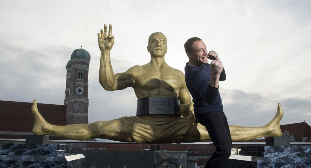 Jean-Claude Van Damme (foto d'archivio)