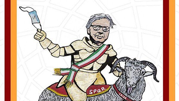 "Vittorio Sgarbi Sindaco di Roma: ""Make Roma Great Again"" – L'ultima opera di LAIKA - Sputnik Italia"