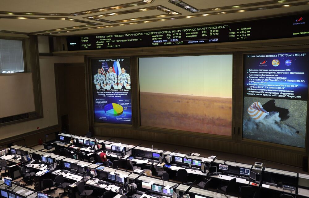 La sonda Soyuz MS-16 si è sganciata con successo dalla stazione spaziale