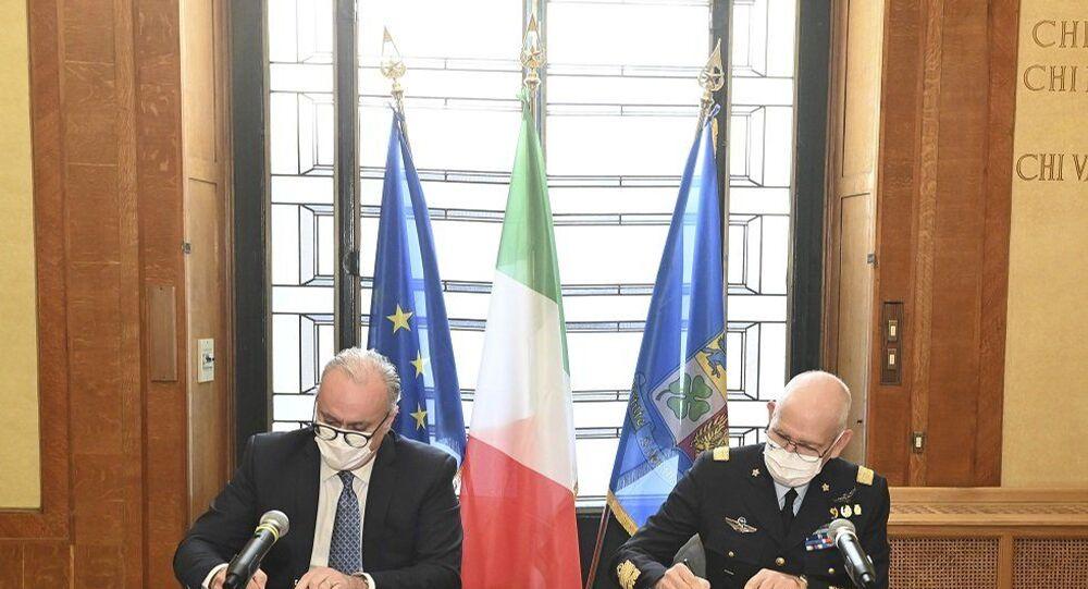 Firma dell'accordo d'intesa tra Enac e Aeronautica Militare