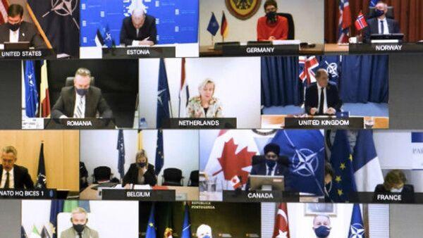 Il summit NATO in videoconferenza - Sputnik Italia