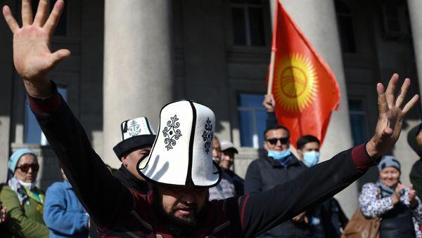 Kyrgyzstan, proteste - Sputnik Italia