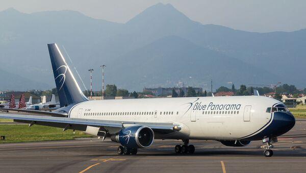 Aereo della Blue Panorama Airlines - Sputnik Italia