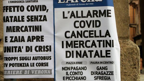 Allarme Covid cancella mercatini di Natale - Sputnik Italia