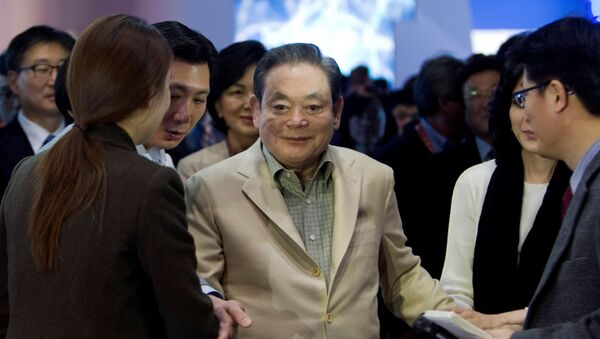 Presidente del gruppo Samsung Electronics Lee Kun-hee - Sputnik Italia
