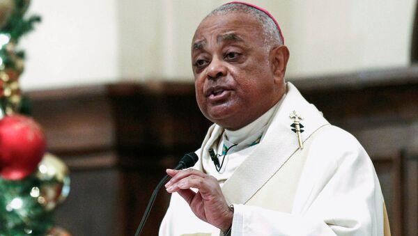 L'arcivescovo cattolico romano di Atlanta Wilton Gregory  - Sputnik Italia