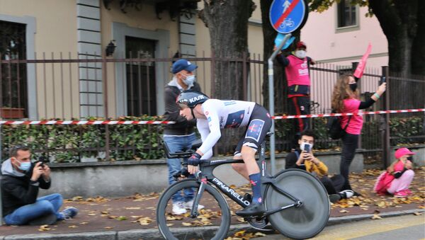 Tao Geoghegan Hart -vincitore del Giro D'Italia - Sputnik Italia