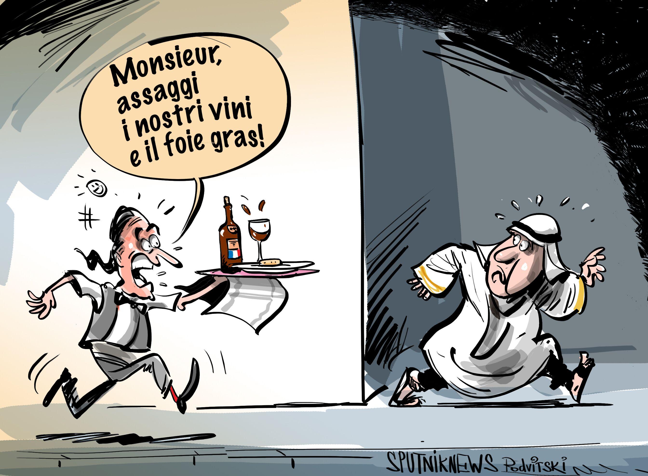 L'Adieu del Qatar ai prodotti francesi