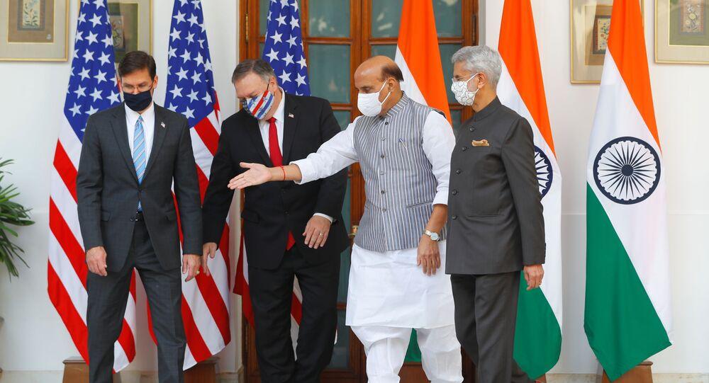Accordo di difesa tra India e Usa