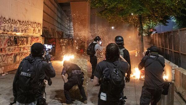 Proteste negli USA - Sputnik Italia
