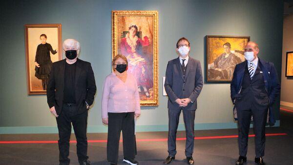 Josef Kibilitskij, Evgenija Petrova, Filippo Del Corno, Domenico Piraina - Sputnik Italia